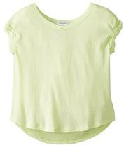 Splendid Girl's Slub Knit Top, DGA01191X, Green Lime, Size 4/5, MSRP $38 - $18.69