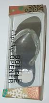 Wild Eye Designs Flip Flop Bottle Opener White Glittery Strap Silver Bod... - ₨1,013.16 INR