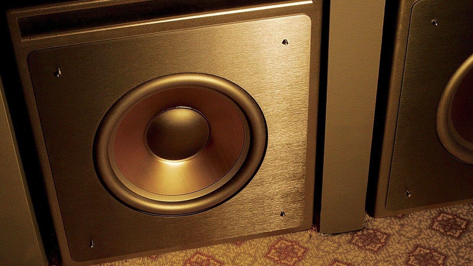 klipsch kw 120 thx passive subwoofer for klipsch ka 1000 thx amplifier ultra2 home speakers. Black Bedroom Furniture Sets. Home Design Ideas