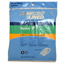 DVC Bosch Type P BO-14010 Micro Allergen Vacuum Cleaner Bags Made in USA... - $15.81