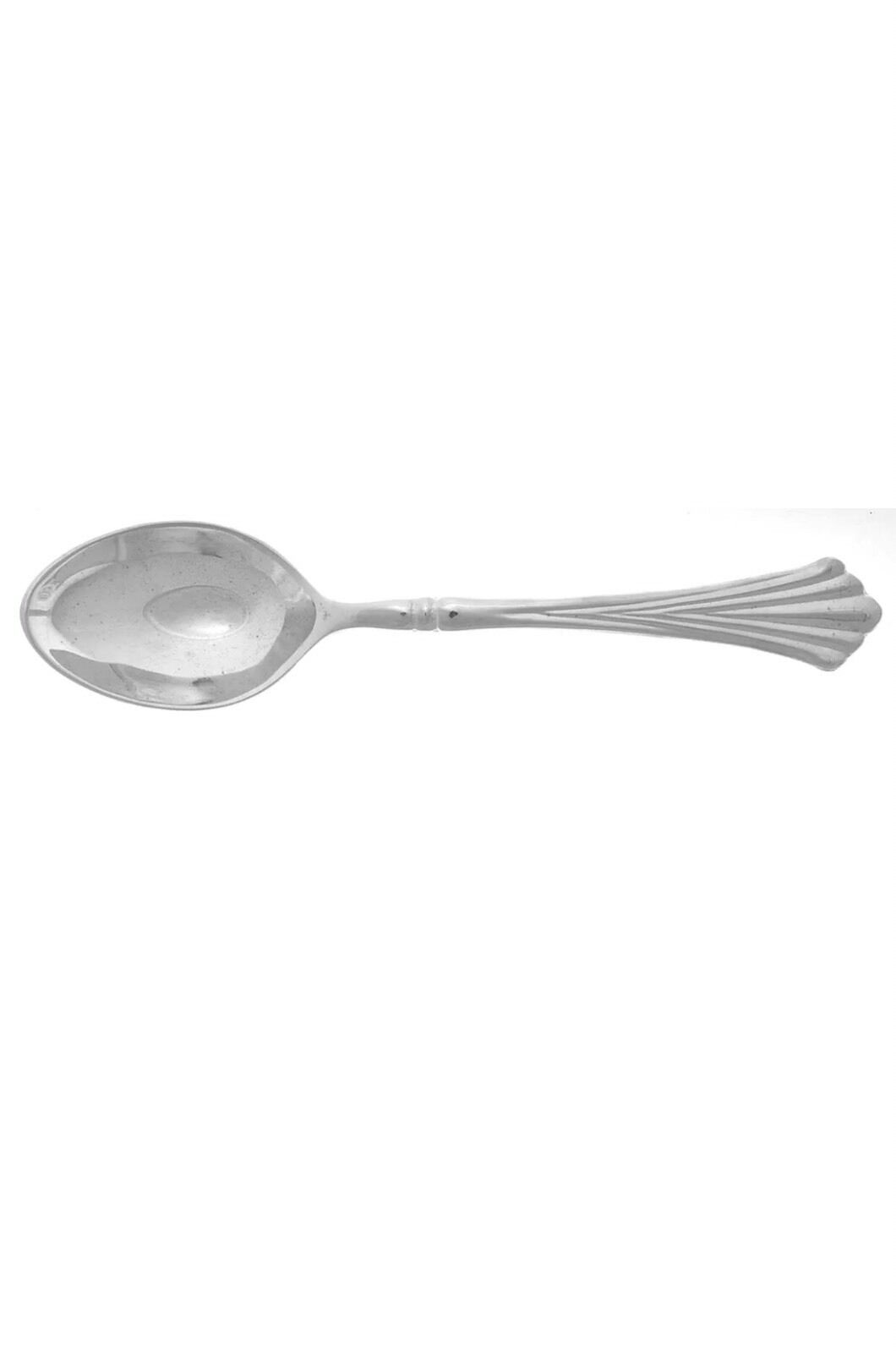 Primary image for NEW 6 International ROYAL PLUME SILVERPLATE Oval Soup Spoons 3457665 Rogers Son