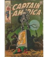 Captain America #113 ORIGINAL Vintage 1969 Marvel Comics Jim Steranko Cover - $79.19