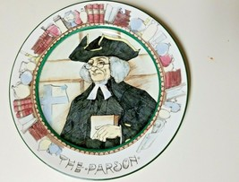 "Royal Doulton England Plate The Parson D6280 Church Collector 10-1/2"" - #07 - $14.98"