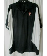 Men's Under Armour Loose Texas Tech Red Raiders Basketball Sideline Polo XL - $20.79