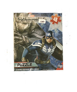 CAPTAIN AMERICA / SPIDERMAN PUZZLES - 48 PIECES PER PUZZLE - $3.75
