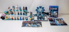 Huge Large Lot PS4 Lego Dimensions Starter Pack Game Portal Figure Sets ... - $120.25