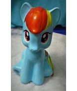 Rainbow Bright My Little pony Ceramic piggy bank Decorative collectible - $21.43