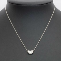 "TIFFANY & Co. Bean Necklace Silver SV925 Women 16"" - $127.71"