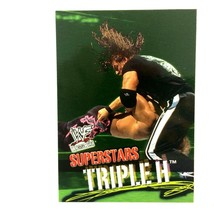 Triple H 2001 Fleer WWF Wrestlemania Card #40 - $2.92