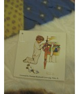 Norman Rockwell Boys Town Fleece Blanket Throw Praying Prayers  - $21.77