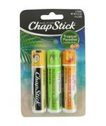 New Chapstick Tropical Paradise Chapstick 3 pks Key Lime Pie, Coconut, M... - $8.97