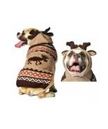Moosey Hoodie Dog Sweater Hand Knit Wool  XXSXXXL Pet Puppy Chilly Dog C... - $32.66+
