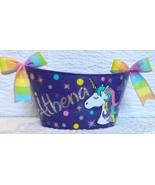 Unicorn Personalized oval Basket, Easter Basket, Girls Basket. Medium st... - $18.00