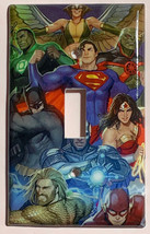 DC Superhero Super heroes Light Switch Power Outlet Wall Cover Plate Home decor image 1