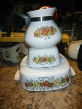 lot of 3 Corning Ware Spice of Life Casserole 2 Quart La Marjolaine,tea ... - $15.00