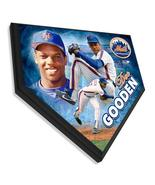 """Dwight Gooden New York Mets  -11.5"""" x 11.5"""" Home Plate Plaque  - $41.95"""