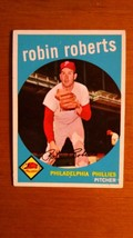 1959 Topps Robin Roberts # 352 Philadelphia Phillies  Nice card - $7.92