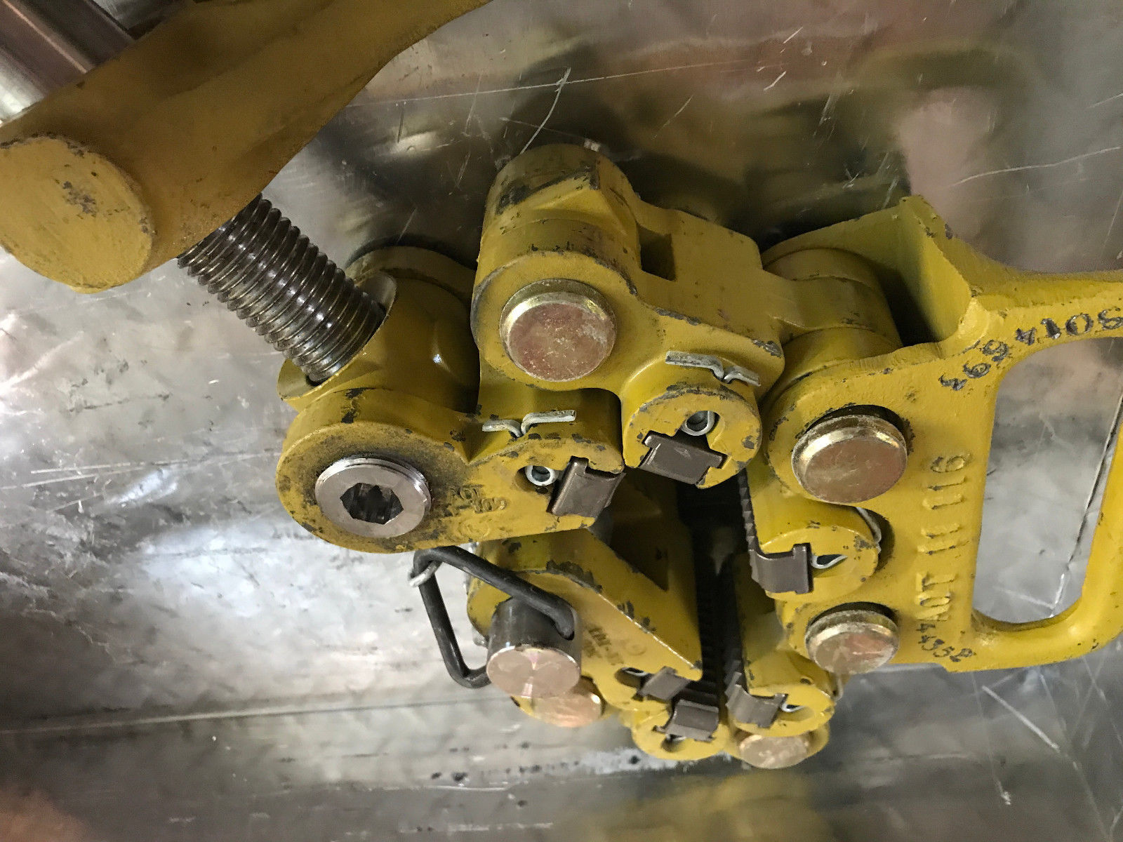 """AOT TYPE """"C"""" SAFETY CLAMP Oil Tools Rig Tools image 3"""