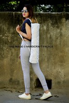Ethnic Indian Mandala Cotton Throw Pilates Bag Yoga Zym Mat Carrying Cro... - $316,14 MXN