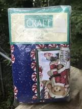 1999 Vtg NIP 3 Yd. Cherished Teddies Patch Cotton Fabric Daisy Kingdom Candy Red - $63.70
