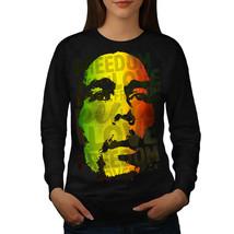 Marley Bob Peace Rasta Jumper Reggae Soul Women Sweatshirt - $18.99