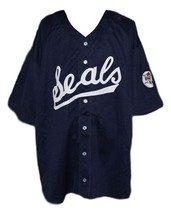 Joe dimaggio san francisco seals retro baseball jersey button down navy blue   1 thumb200