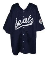 Joe Dimaggio San Francisco Seals Baseball Jersey 1933 Navy Blue Any Size - $49.99+