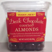 Trader Joe's Dark Chocolate Almonds Crunchy California Almonds - $19.79