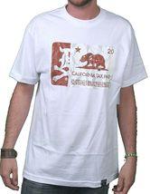 Dissizit! Mens Black or White Cigarette Calitax Stamp California Tax T-Shirt NWT image 4