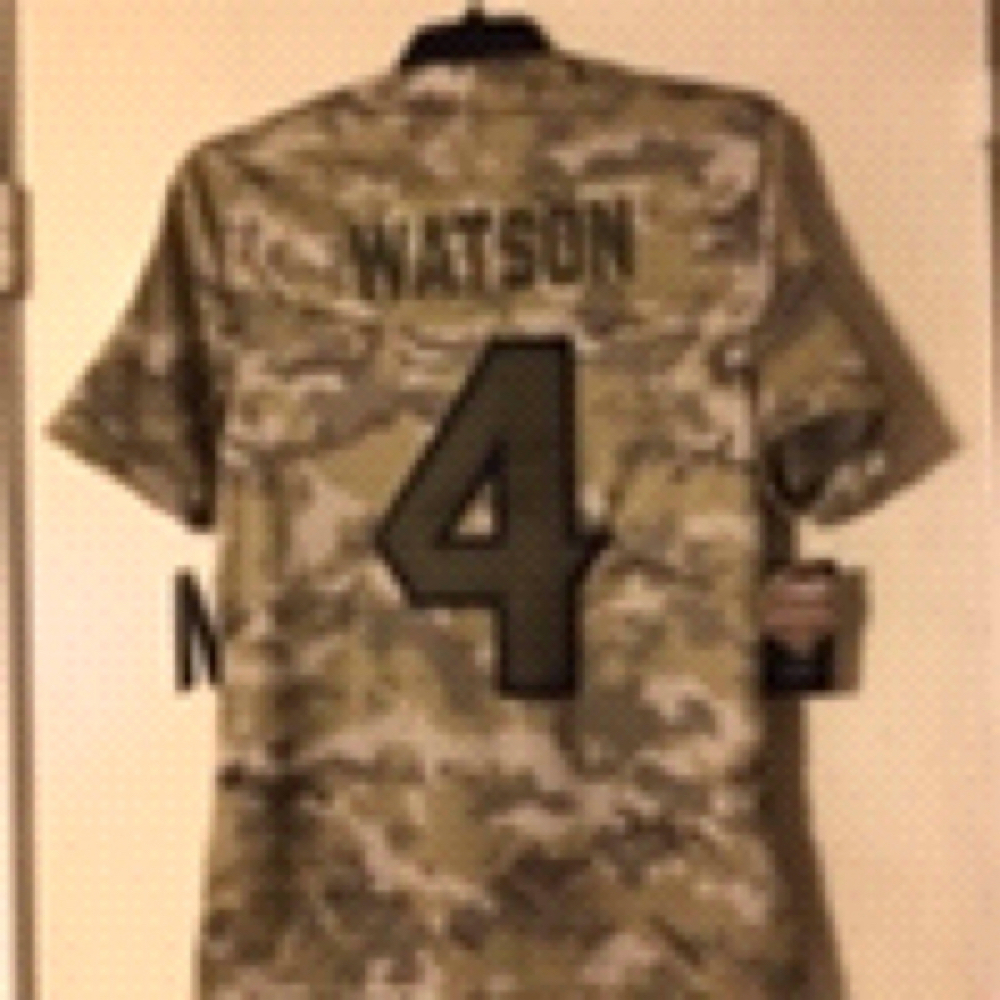 Nice Deshaun Watson Jersey Nike Salute To Service and 50 similar items  hot sale