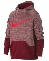 Nike Nwt  Talla Med Dri-Fit Entrenamiento Jersey Sudadera Holgado Rojo KD151 - $29.55