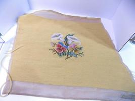 Bucilla Needlepoint Preworked Canvas Calla Lilies Spring Florals 17 x17 Vintage - $44.65