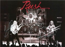 The Rush Autographed Concert Poster - $145.00
