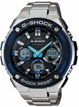 CASIO Watch G-SHOCK G-STEEL radio solor GST-W100D-1A2JF Men's Japan import - $296.88