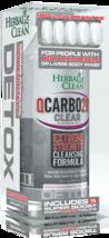 Herbal Clean QCARBO20 591ML Transparente Cran-Raspberry Sabor con 5 Supe... - $17.75