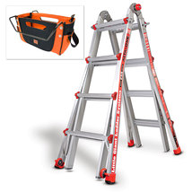 Little Giant Ladder System Type 1 Alta-One - Model 17 With Cargo Hold  - $175.00