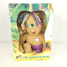 Kukura Doll Ku Kura Save The Rainforest Save The World Doll Stuffed Plush - $49.45
