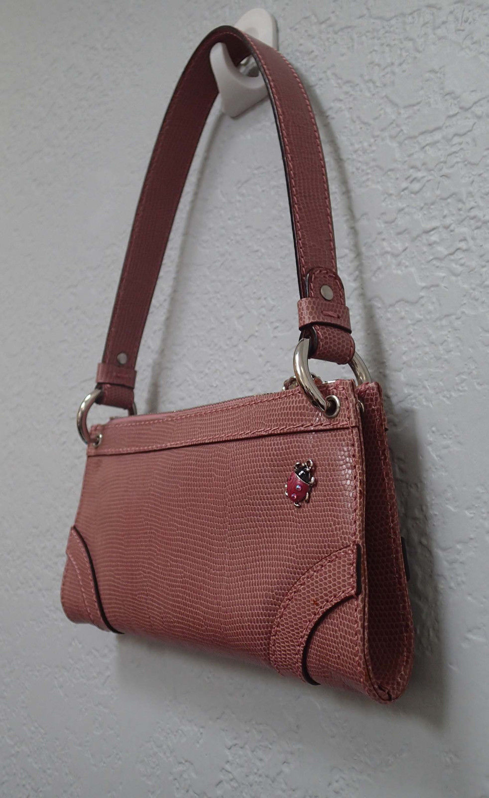 ffd790dbb58 Authentic Burberry Pink Leather Small and 50 similar items