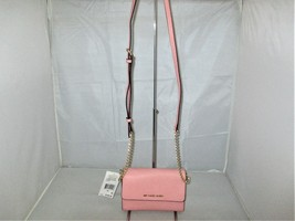 Michael Kors Jet Set Large Saffiano Leather Phone Cross-Body. Shoulder B... - $99.99