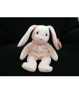 Ty Beanie Baby Hoppity 5th Generation with 2 Errors 1996 Pink NEW - $7.91