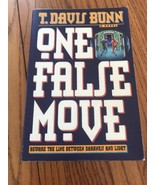 One False Move T. Davis Bunn Libro en Rústica Ships N 24h - $46.56