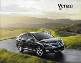 2015 Toyota VENZA sales brochure catalog US 15 LE XLE Limited Camry - $6.00