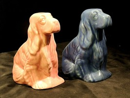Dogs Ceramic Pair AA20-7379 Vintage