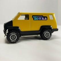 Tonka Toy Die Cast 1978 Van Black & Yellow 086 USA Vintage Rare Collecti... - $9.74