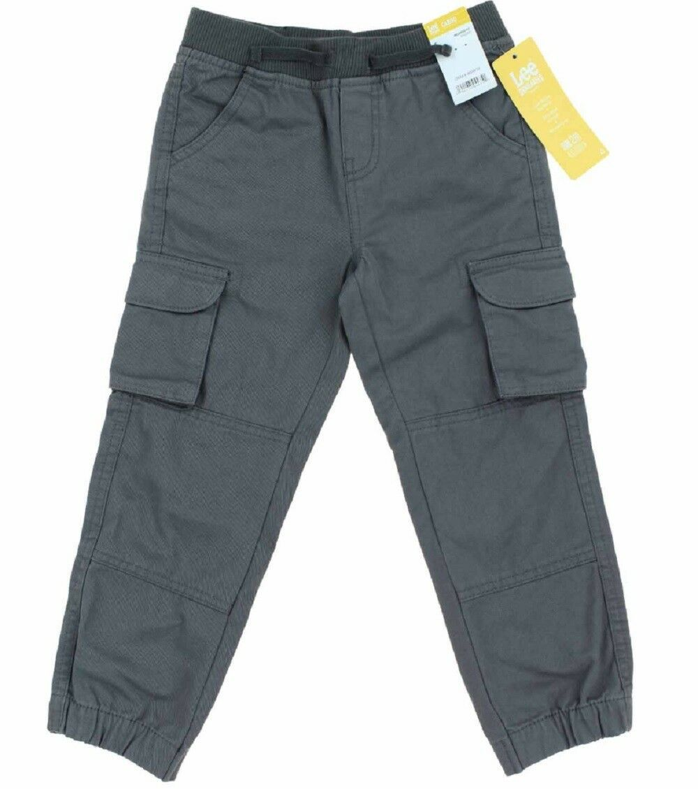 Lee Dungarees Boys Cargo Relaxed Fit Jogger Grey  - $16.99