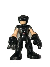 """Marvel Toy Firgire Imaginext Poseable Cake Topper 3"""" Wolverine Black & Gray - $14.85"""