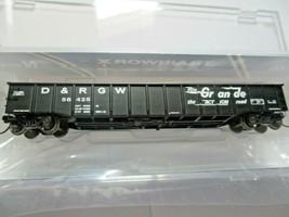 Trainworx Stock # 25201-27 to -30 Rio Grande  Black Paint Scheme 52' Gondola (N) image 1