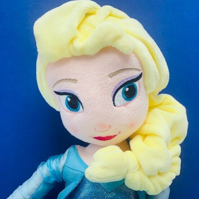 "Elsa Frozen Disney Store Exlusive Plush 20 inch 20"" NWT doll stuffed animal 23"