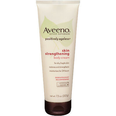 AVEENO POSITIVELY AGELESS Skin Strengthening Body Cream Anti-Aging Moisturizer