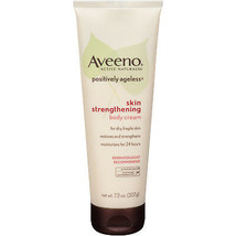 AVEENO POSITIVELY AGELESS Skin Strengthening Body Cream Anti-Aging Moist... - $39.99